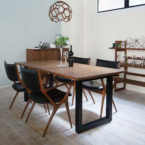 ワイルドウッド ダイニングテーブル [ ウォールナット ] WILDWOOD DINING TABLE(2951) - マスターウォールのテーブル | おしゃれ家具、インテリア通販のリグナ