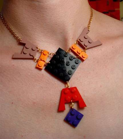 LEGO Jewellery. I've seen it all now....