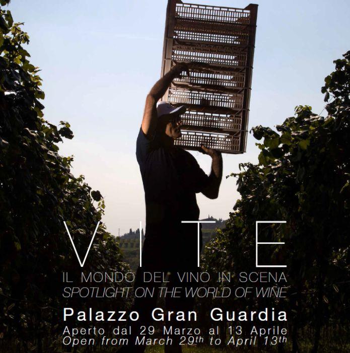Zenato & Fondazione Studio Marangoni sono liete di presentare: Vite. Il Mondo del Vino in Scena   29 marzo – 13 aprile 2014 Palazzo della Gran Guardia - Piazza Brà - Verona