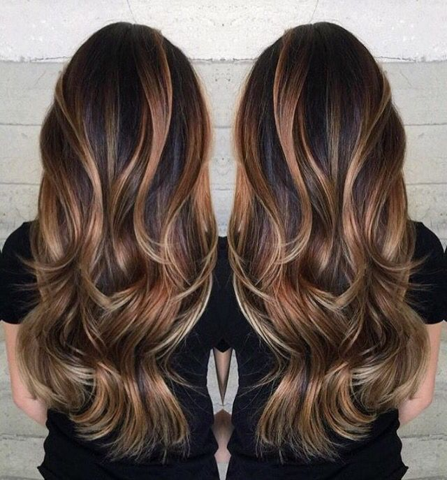 Hairstyles For Long Asian Hair : Best 25 asian highlights ideas on pinterest balayage asian hair