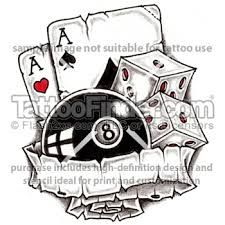 casino tattoo designs - Google Search