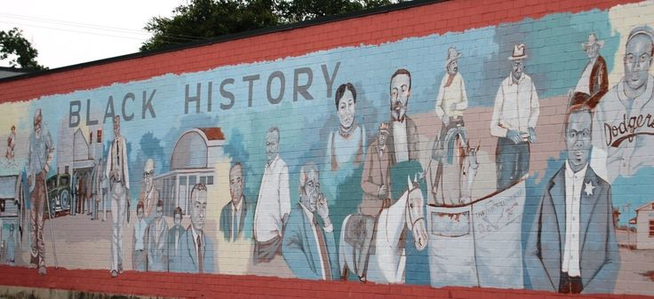 203 best texas murals images on pinterest murals roots for Black history mural