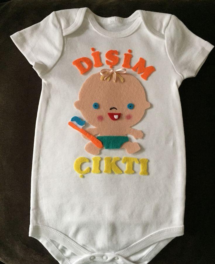 Diş Buğdayı Tişörtü Keçe Bebek Özel Tasarım  192