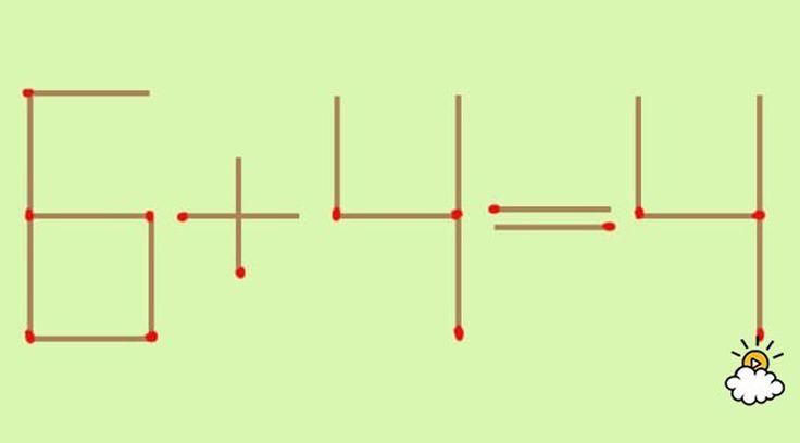 まずはコチラの画像を見てください。マッチ棒によって組み立てられた計算式。ですが、見てのとおり成立していません。が、「Little Things」のPhil Mutz氏によれば、一本だけマッチ棒を動かすと、すべての辻褄を合うそうです。どうしたらいいのでしょうか?答えは3通りあります。考えてみて!※ページを進むと、ヒントと回答がチェックできます。ゆっくりと進んでね。青くマーキングされたマッチ棒を...