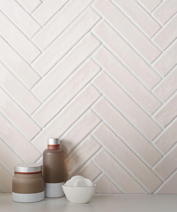 Artisau Gloss Pink Wall Tile