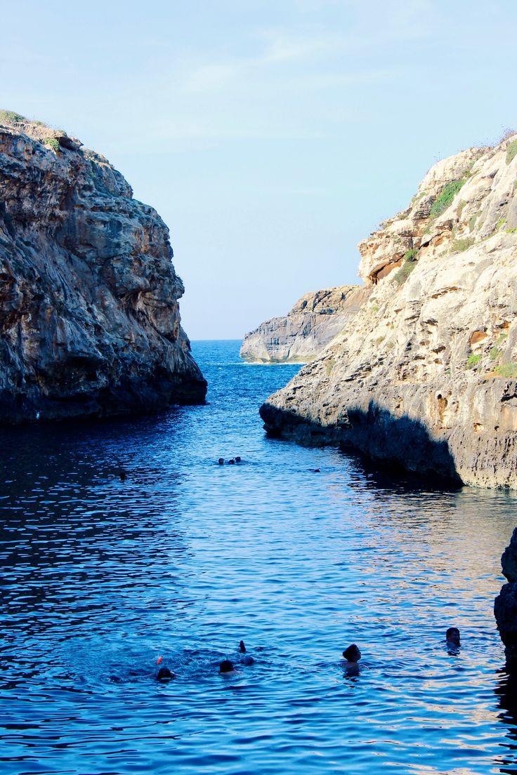 Search for Wied il-Ghasri in Gozo, Malta