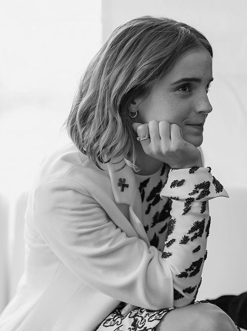 emmawatson: Behind-the-scenes at the @OneYoungWorld Ottawa opening ceremony yesterday!  Dress and coat by @dior. The Haute Couture brand supports local artisans through their production in a small atelier in Paris, preserving tradition and craftsmanship #thewomenbehindmydress  #ecoloves fashion information, in association with @Eco-Age