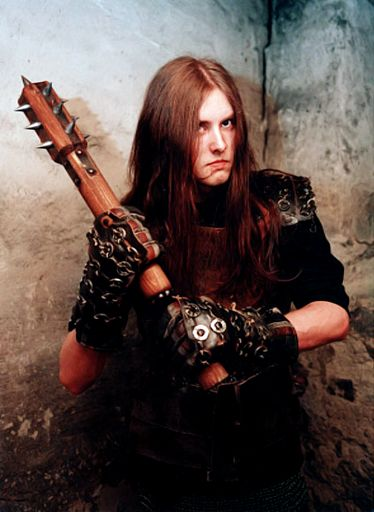 Varg Vikernes of Burzum, a forefather of Black Metal