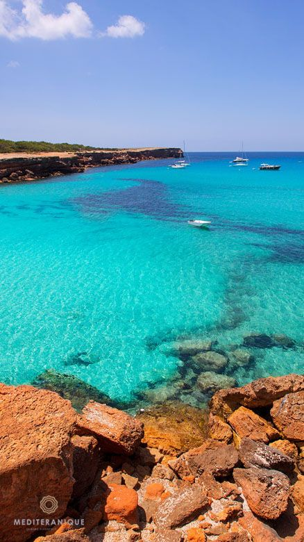 Amazing places: Cala Saona Beach, Formentera, Spain