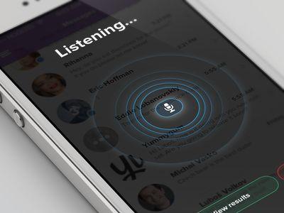 Voice Recognition UI