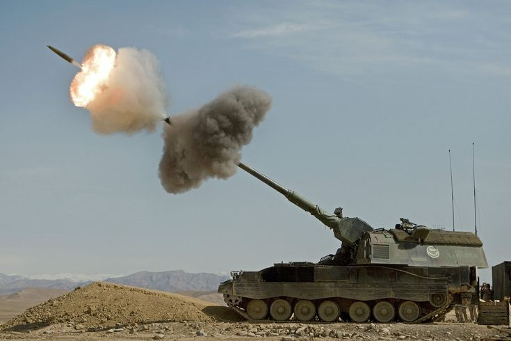 Panzerhaubitze (PzH) 2000 155 mm  Self-Propelled Howitzer (Germany)