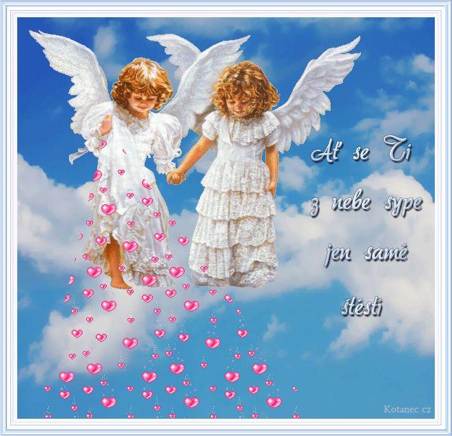 Nech sa ti z neba sype len samé šťastie
