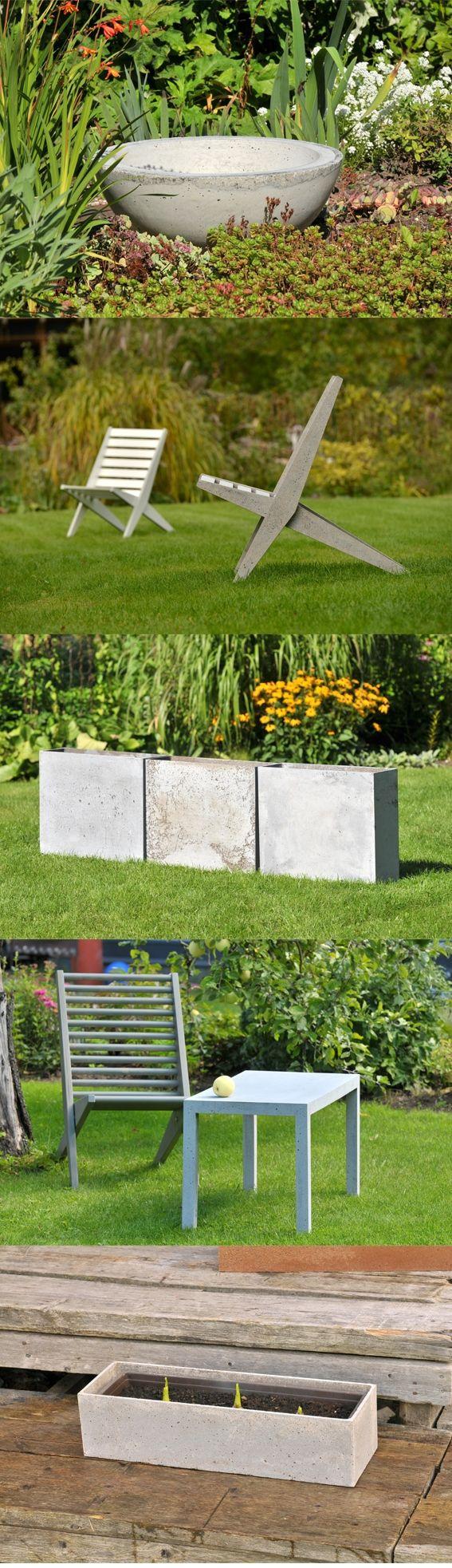 TRU LATVIA designer FLO - concrete outdoor furniture http://truelatvia.lv/en/true-ziimoli-452721/flo-en