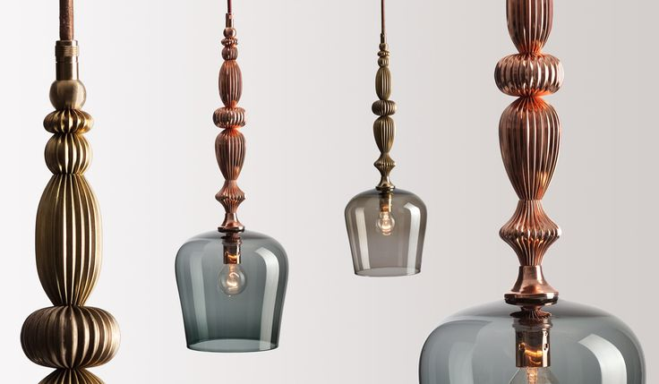 FLODEAU.COM - Handblown Glass Lighting by Rothschild  Bickers 04