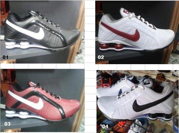 Nike shox junior 2 - 10 pares.