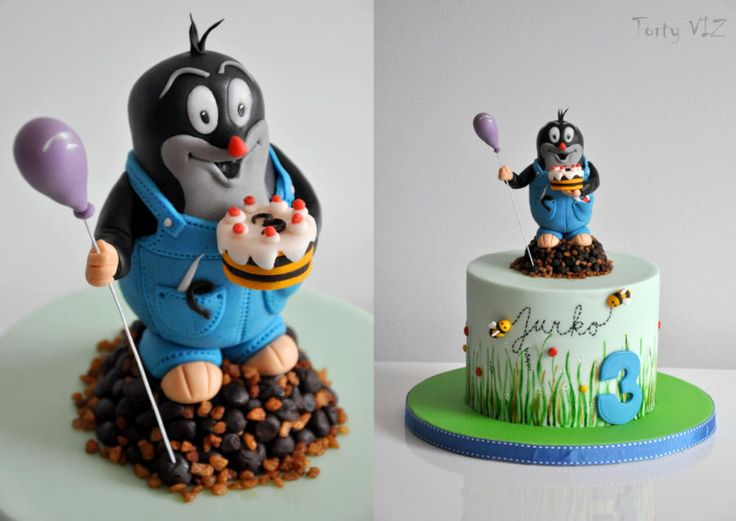 Mole in a trousers - Cake by CakesVIZ