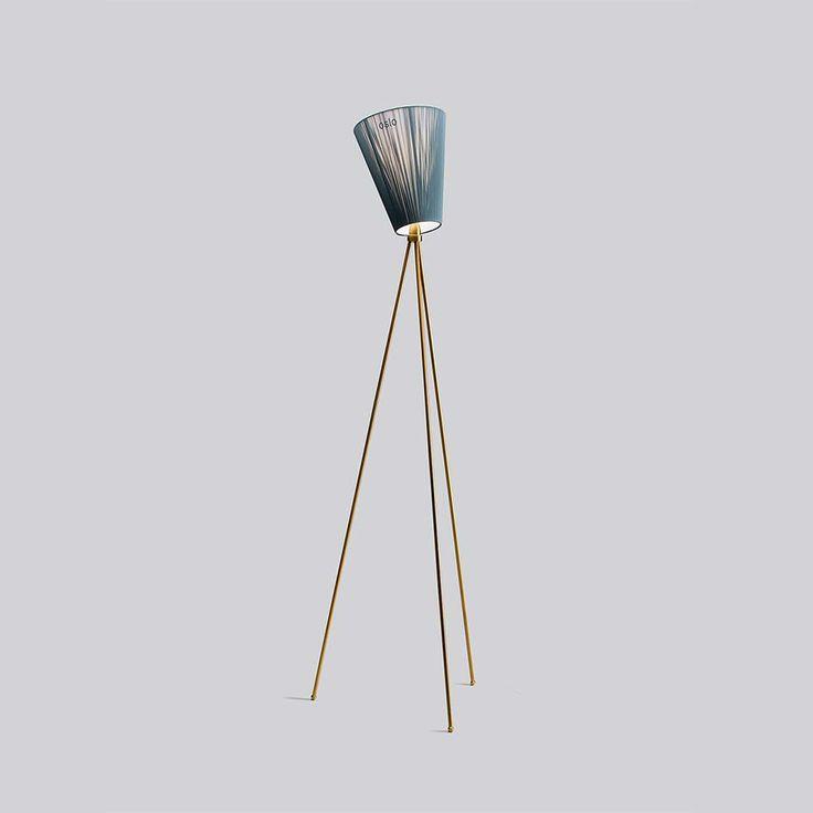 Oslo Wood Floor Lamp Anniversary Edition, Gold $507. - RoyalDesign.com