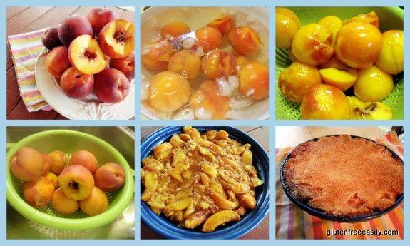 Easy Crustless Peach Pie pünktlich zur herrlichen Pfirsichsaison! #glutenfrei #cr …   – Can't Believe It's Gluten-Free (Shared)