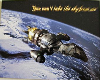 Firefly Postcard