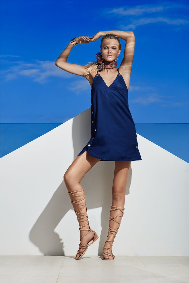 JETS Swimwear Perspective A-Line Dress