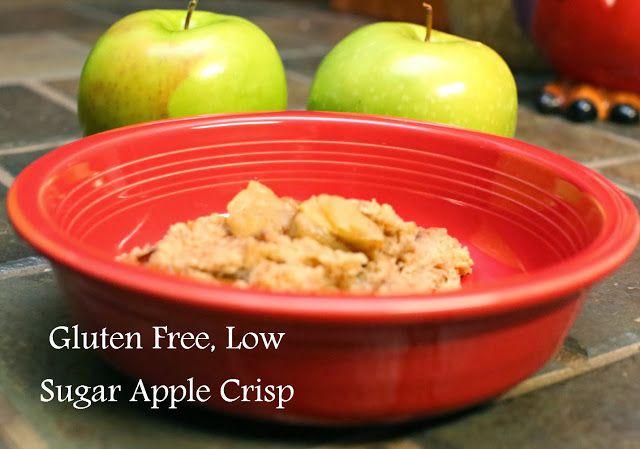 ... guests? Gluten Free, Low Sugar Apple Crisp @Jennifer Allen Street