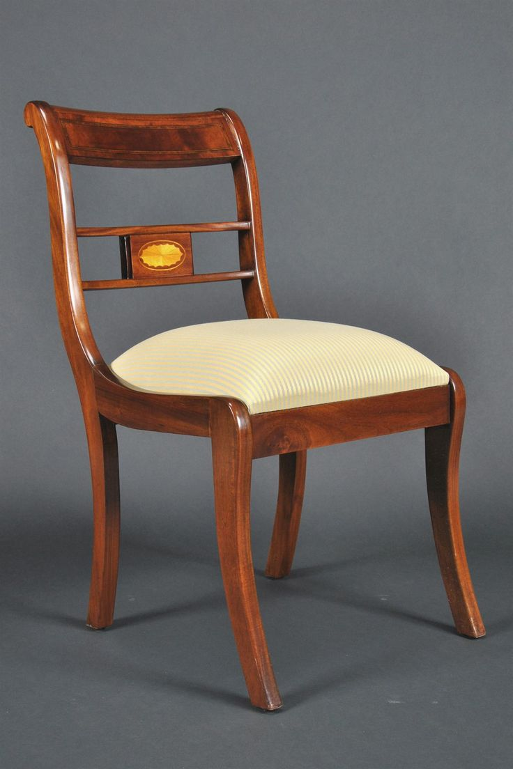 Duncan phyfe rose back chairs - Duncan Phyfe Dining Room Chairs Mahogany Dining Chairs