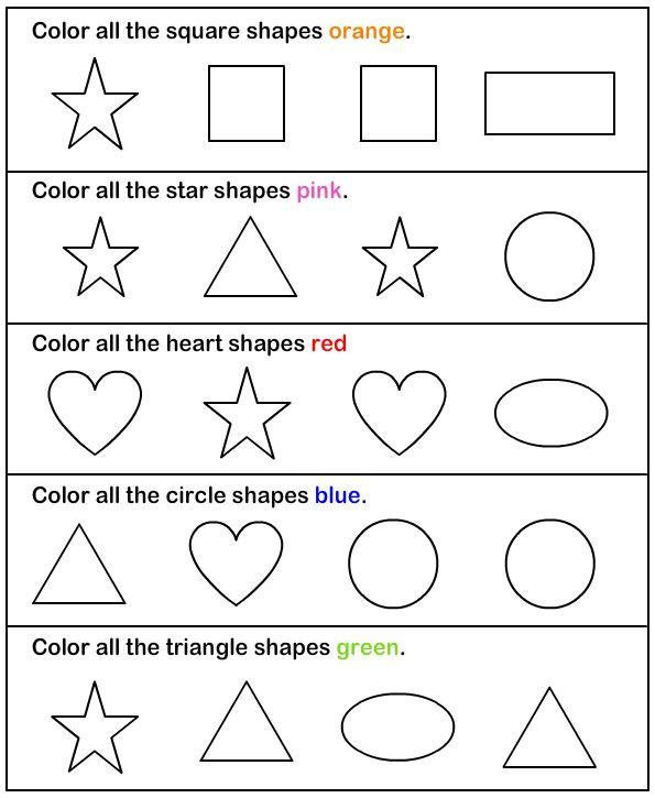 shapes  math worksheets  preschool worksheets  fun math games for  shapes  math worksheets  preschool worksheets  fun math games for kids   pinterest  preschool worksheets preschool and math worksheets