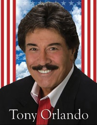 Tony Orlando performs at the Lawrence Welk Theater in Branson, Missouri. sings knock three times so good.........