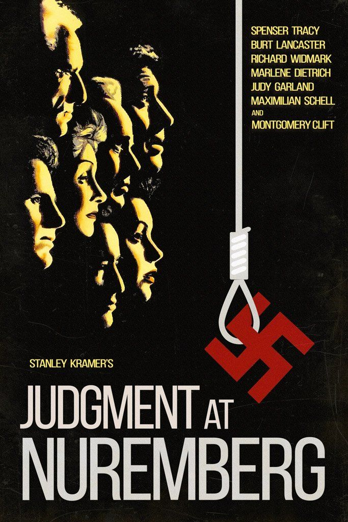 Judgment at Nuremberg (1961) Poster in 2020 | Judgment at ...