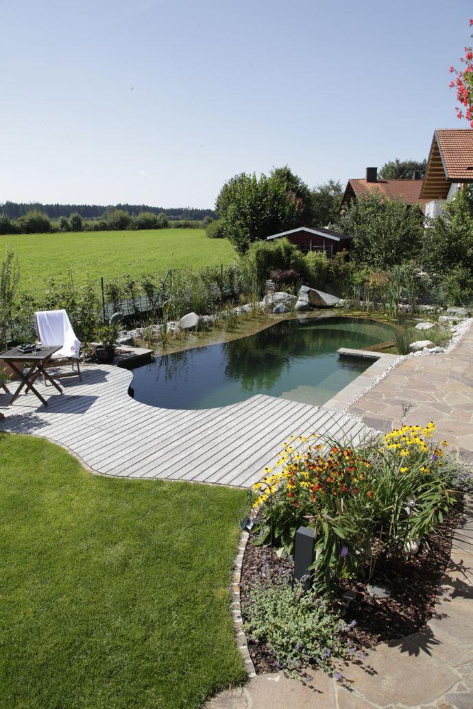 Die besten 25+ Schwimmteich bausatz Ideen auf Pinterest Pool diy - garten terrasse holz anlegen