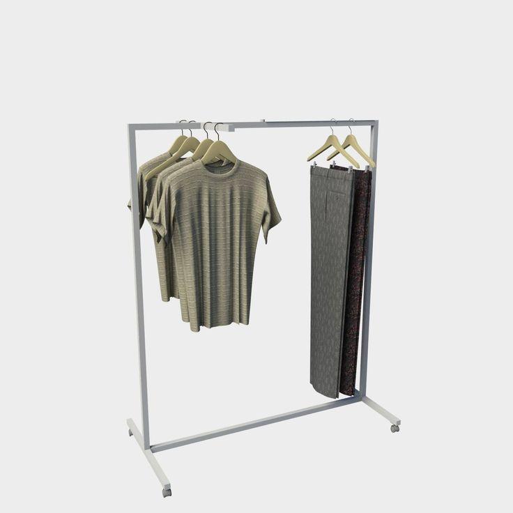 Stand επιδαπέδιο ρούχων 07-013