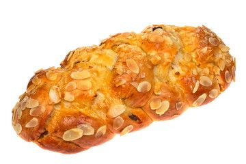 Christmas sweet bread czech tradicional