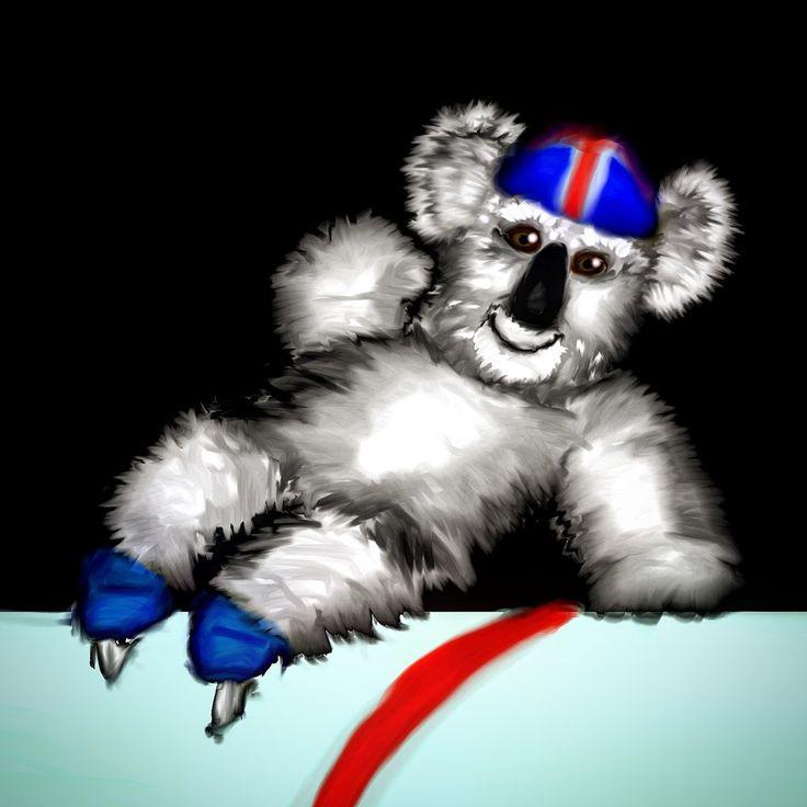 Koala speed skater