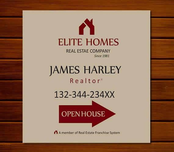 Open house yard signs Real estate open house sign open house