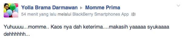 mommy yolla... say: suuuukaa deeeh sama momme pregnancy shirt... ;)