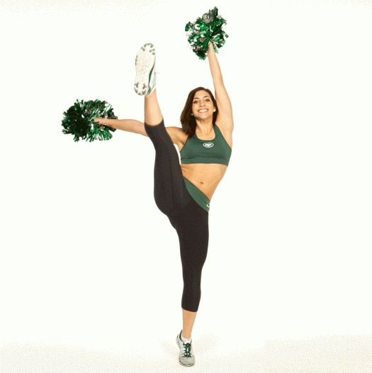 Get fit and in shape with this fat-burning workout routine that NFL cheerleaders do. This total body workout will get your entire body toned and sculpted. Follow this simple exercise guide and video that will show you how to burn calories fast and lose weight.