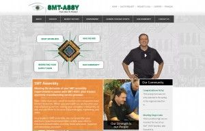 Our digital marketing agency takes you on a tour of SMT-ASSY's redesigned website!