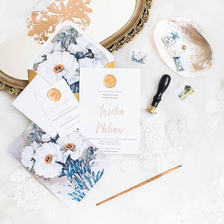 Wedding Invitations 2017 Gold Wedding Invitations Wax Seal Wedding Invitations Floral Wedding Invitations