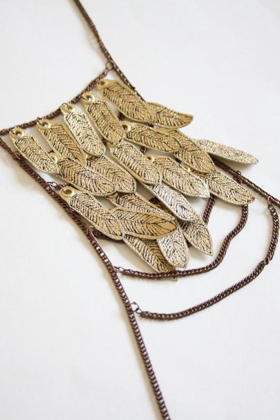 Chain chest piece