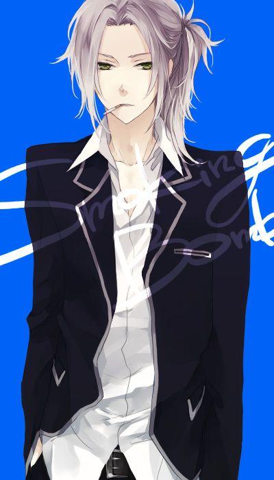 Gokudera Hayato long hair