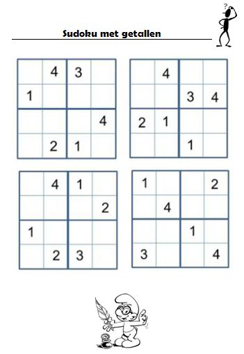 Gietjes Corner: Nog wat sudoku's...
