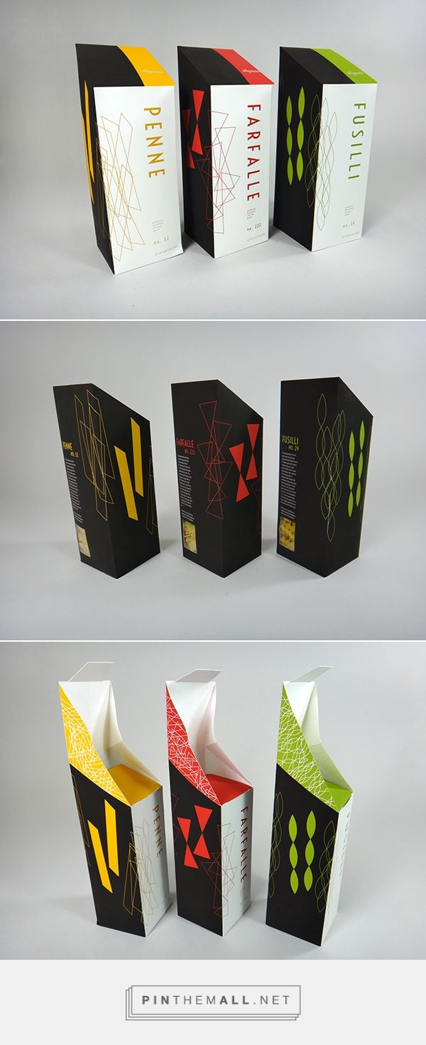 Gourmet Pasta Packaging on Behance... - a grouped images picture - Pin Them All