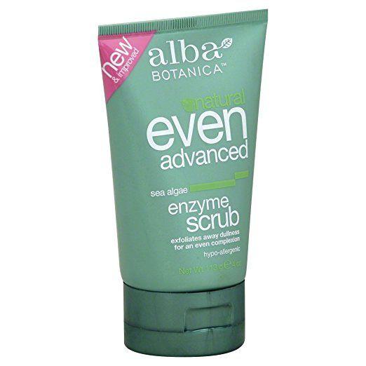 Alba Botanica Sea Enzyme Facial Scrub 4 oz.