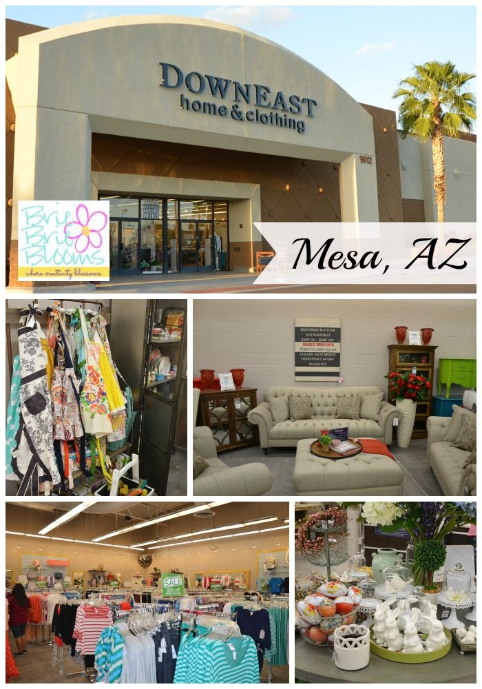 The  DownEast Basics Home store in Mesa  AZ celebrated their Grand Opening  March 28. The  DownEast Basics Home store in Mesa  AZ celebrated their Grand