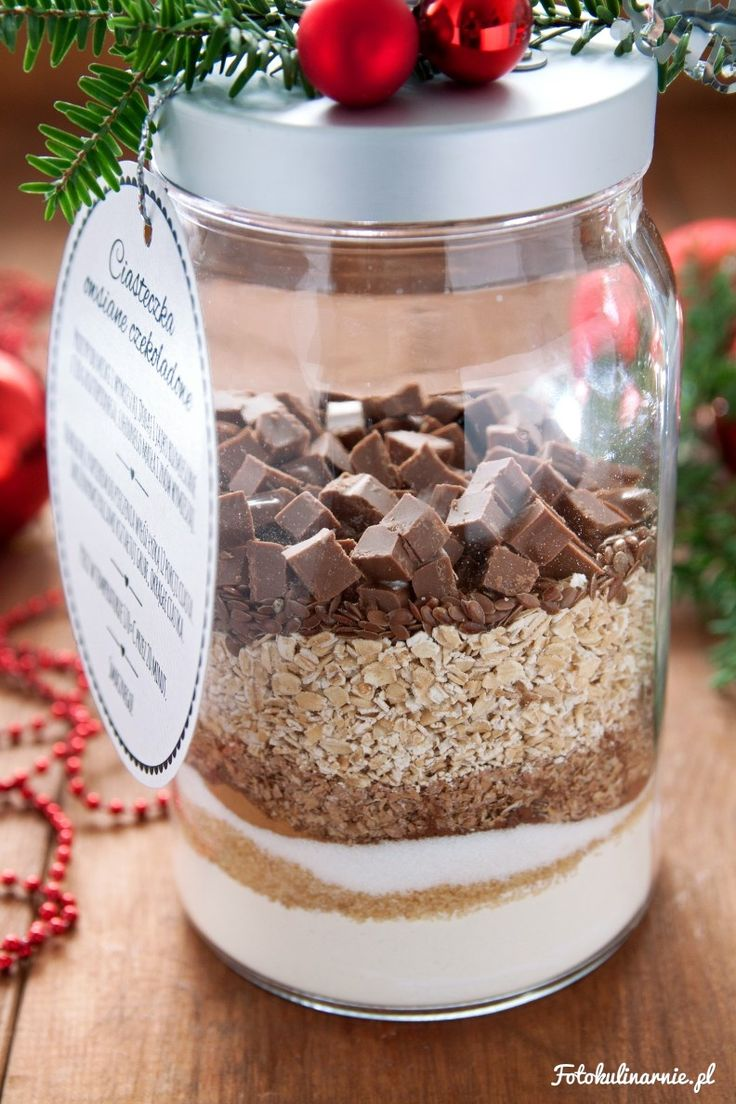 DIY Cookies in a Jar with Free Printable Label - Perfect, Sweet Gift.