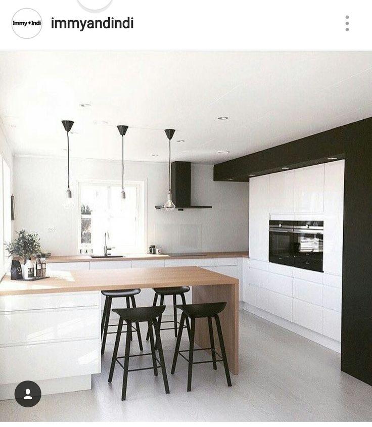36 best Contemporary Kitchens images on Pinterest Kitchen modern - küchenzeile u form