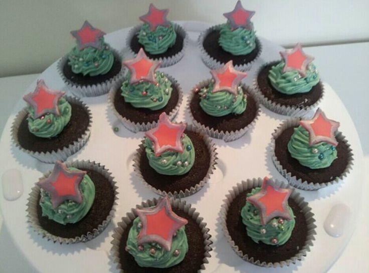 Xmas cupcakes #partycakefun