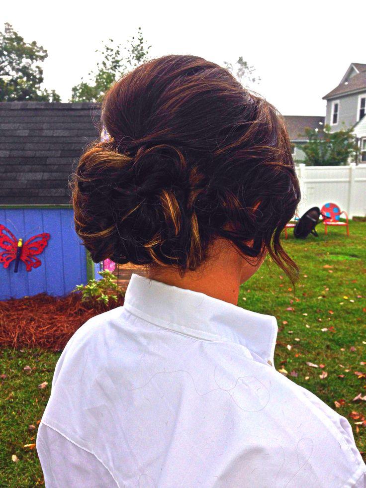 Wedding hair by Micah @ Bangz Hair Salon