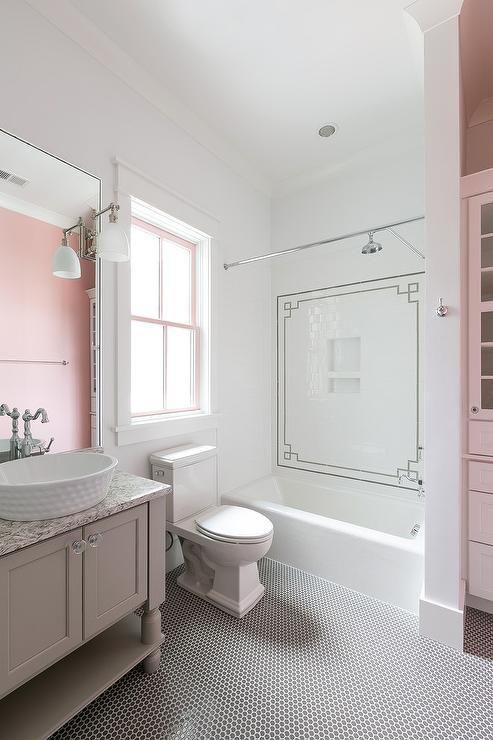 Die besten 25+ rosa Waschtisch Ideen auf Pinterest antike Make - moderne badezimmer ideen regia
