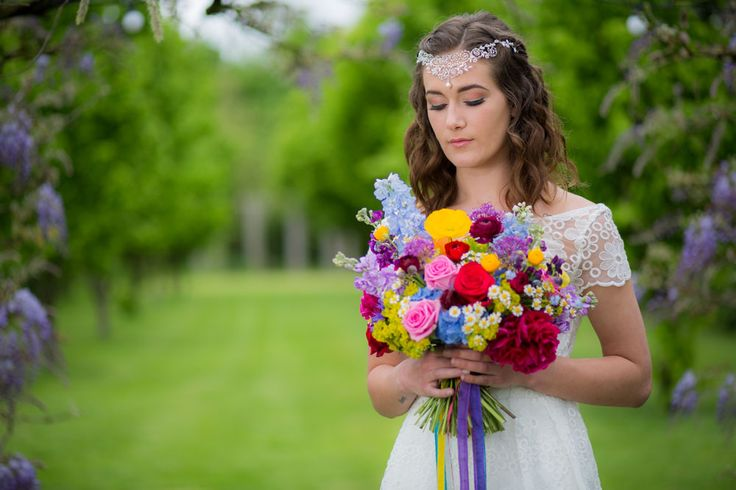 """""""Through the Looking Glass Bridal Shoot"""""""
